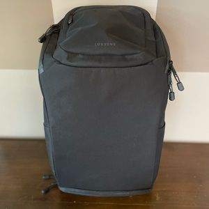 Lo & Sons Hakuba Black Backpack